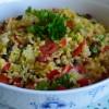 Tabbouleh salata sa bulgurom